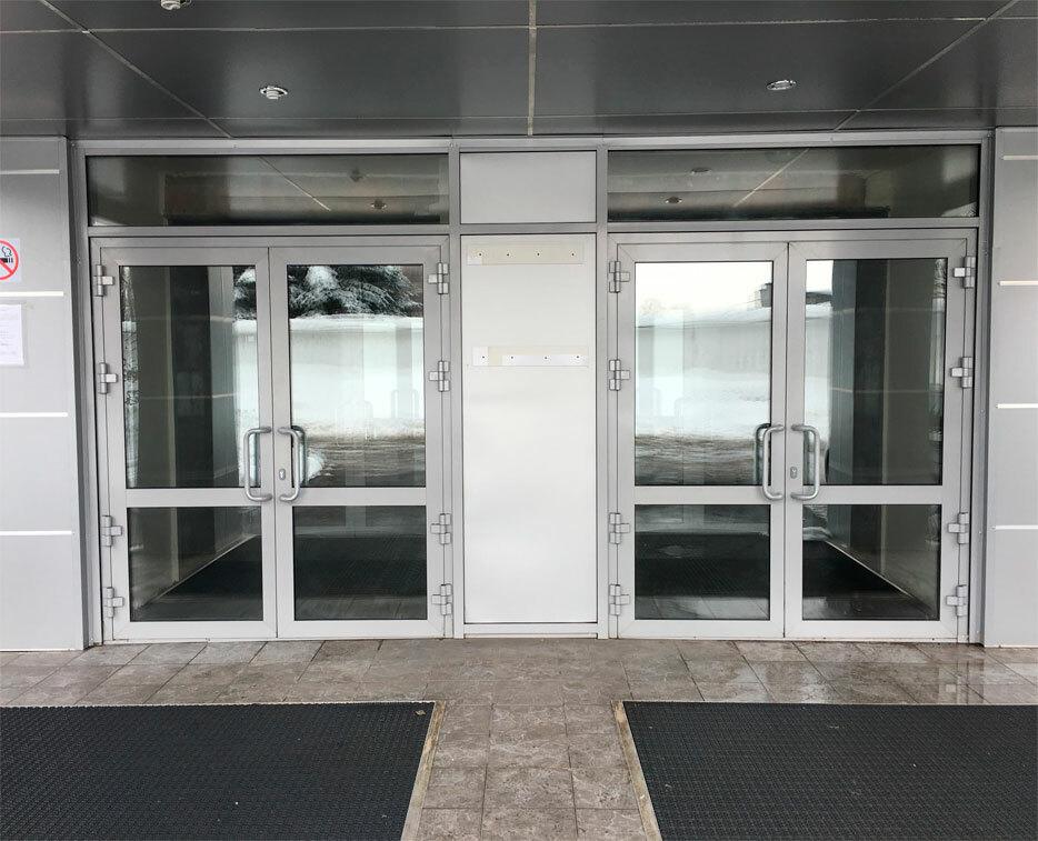 алюминиевые двери купить